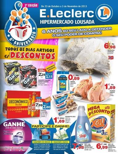 Antevisão | E-LECLERC | Folheto Lousada, de 23 Outubro a 3 Novembro