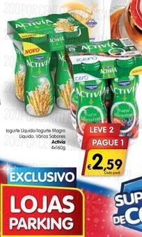 Possível acumulação | MINI PREÇO | Iogurtes Danone dia 23 novembro