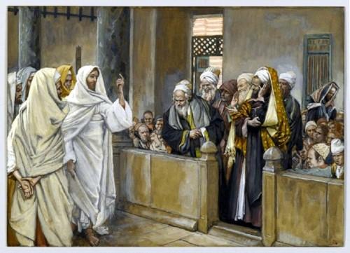 The Chief Priests Ask Jesus  (Les princes des prê