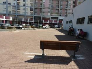 obras no Espaço Público frente à ATM e SCML com limitação de estacionamento abusivo e criação de áreas de estadia