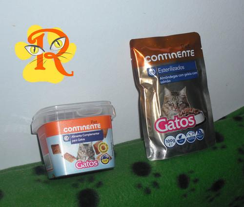 Promo o em snacks para gato continente riscas o - Alimento para gatos esterilizados ...