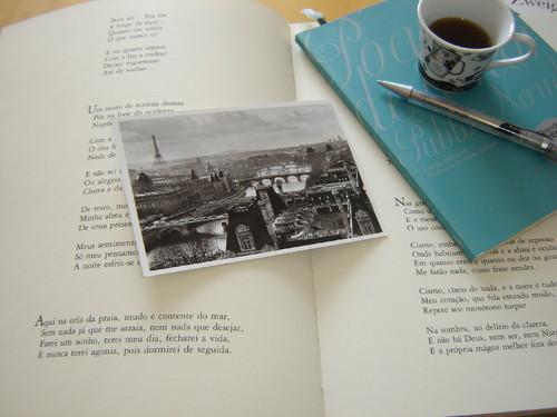 Ainda há hábitos preciosos! Um postal...e este, da mais linda capital do mundo.PARIS...capital do amor.