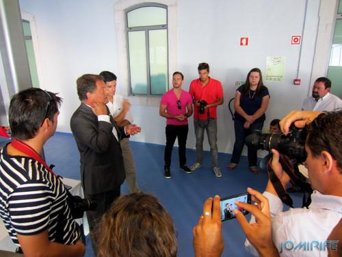 Exposição coletiva de Fotografia «Figueira da Foz, aqui sou feliz» - Presidente João Ataíde a falar ao público [en] Exhibition of Photography «Figueira da Foz, I am happy here»