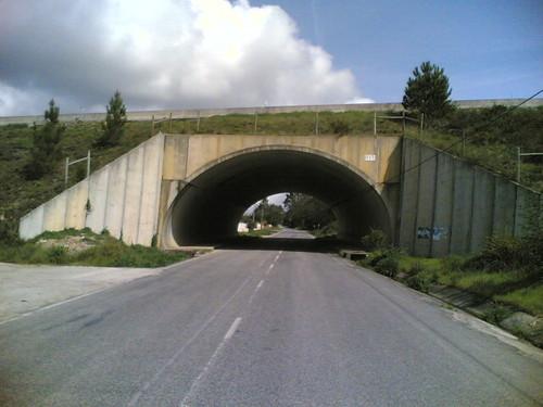 Túnel sob A14 em Casal do Raposo, Montemor-o-Velh