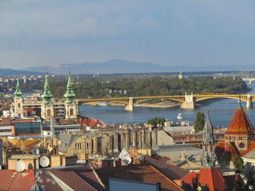 Ilha Margarida vista do Bastião dos Pescadores - Budapeste