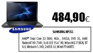 Samsung NP355