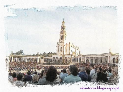 Fatima, Cova da Iria, Altar do Mundo