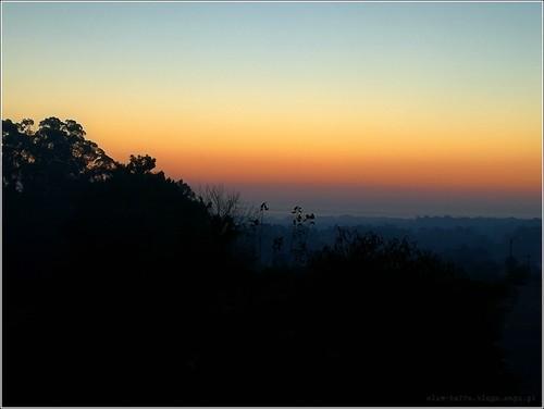 Inverno 2016 - Por-do-sol sobre a Ria de Aveiro