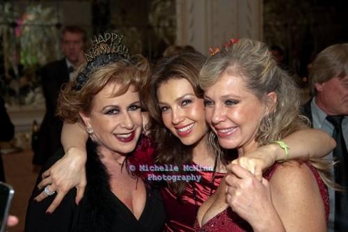 Thalia at 2011 New Year's