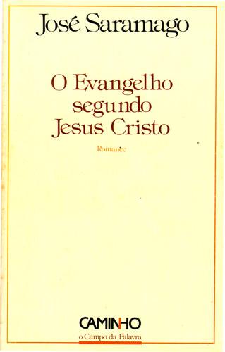 o evangelho segundo jesus cristo de jose saramago