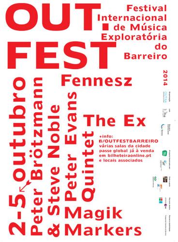 11ª EDIÇÃO DO OUT.FEST – 2 A 5 DE OUTUBRO DE 2014