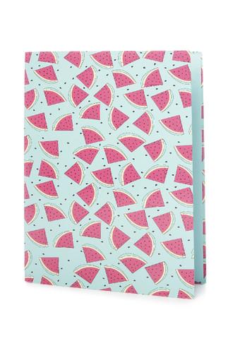 Kimball-8735001-watermelon folder, grade missing,