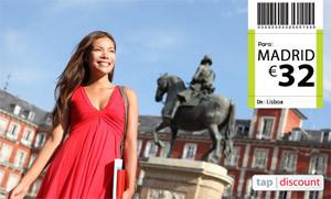 Voos baratos para Madrid - Promoções TAP - Voos Madrid Voos Madrid baratos