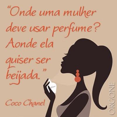 Onde uma mulher deve usar perfume?