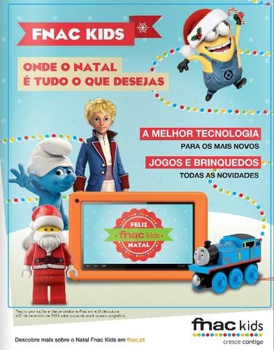 Novo folheto | FNAC KIDS | até 31 dezembro