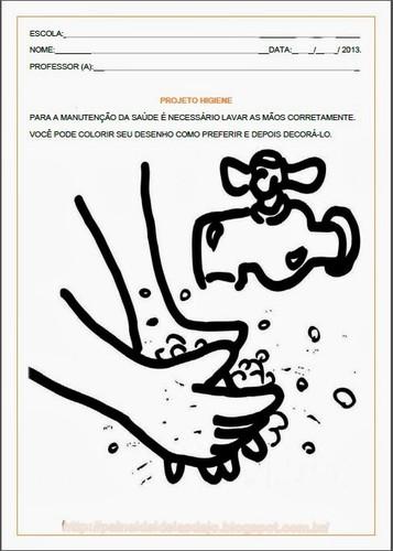 Projetos Sobre Higiene Para Educacao Infantil O Mundo Das Criancas