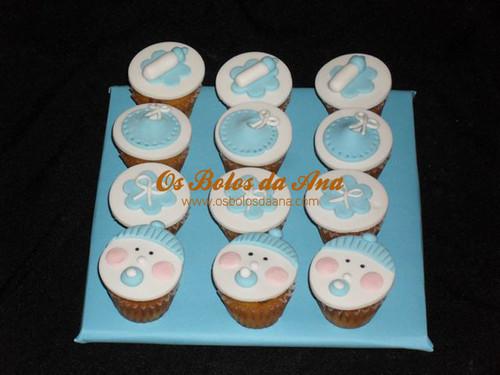 Mini Cup Cakes Queques de Bébé