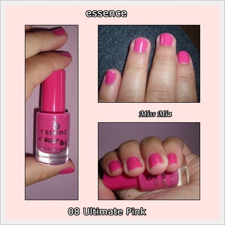 Verniz Essence Ultimate Pink