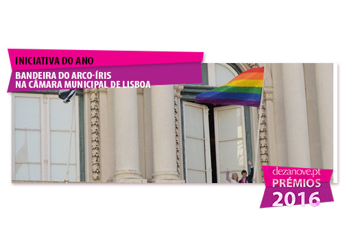 Inciativa do Ano - Bandeira do arco-íris na Câma