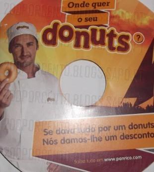 €0.60 na compra de uma embalagem de Donuts Classic, 4 un.
