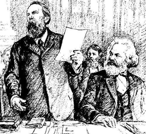 Marx_and_Engels_at_Hague_Congress