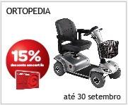 Ortopedia 15% em Cartão até 30 de Setembro