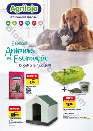 Antevisão Folheto AGRILOJA Pets promoções de 13