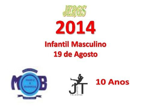 JERGS HANDEBOL INFANTIL MASCULINO - 19 DE AGOSTO
