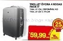 Trolley 4 Rodas Pack.it mod. Evora
