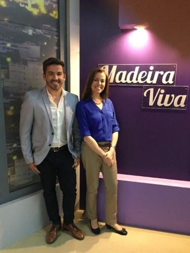Carina Freitas e Gonçalo Barradas - RTP Madeira O