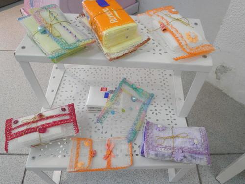Bolsas para lenços de papel!
