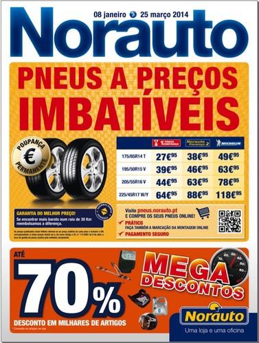 Folheto | NORAUTO | até 25 março 2014