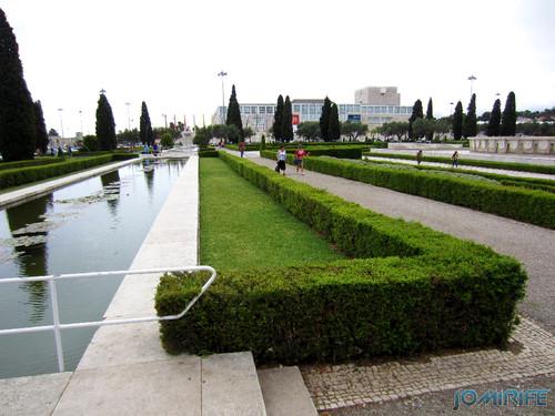 Lisboa - Jardim da Praça do Império (3) Lago [en] Lisbon - Empire Square Garden - Lake