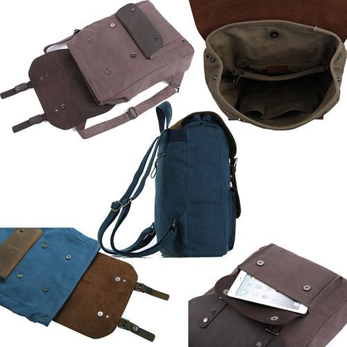 mochila vintage de senhora