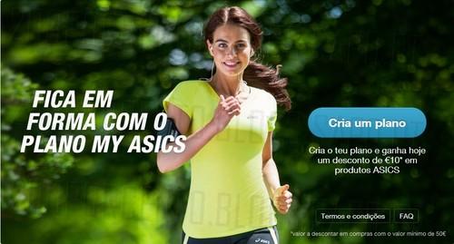 Vale de 10€ | NESTLÉ / ASICS | até 31 dezembro 2014