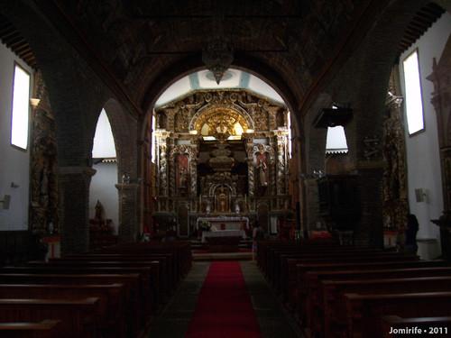 Castelo Bragança: Igreja de Santa Maria - Altar