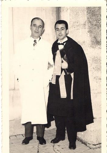 Lúcio de Almeida e o seu filho Luís Manuel Cardoso de Menezes de Almeida