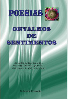 POESIA/LIVRO ORVALHO DE SENTIMENTOS/DGAUDIO