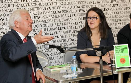 Eduardo Catroga e Bárbara Barroso