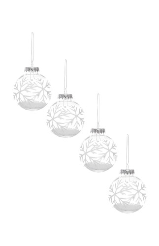 Kimball-1054101- set 4 filled snowflakes, grade f,
