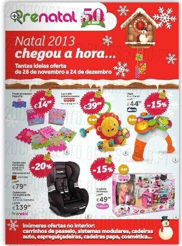 Antevisão Novo Folheto | PRENATAL | Natal 2013, de 28 novembro a 24 dezembro