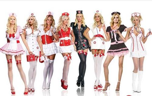 Disfraces de enfermera