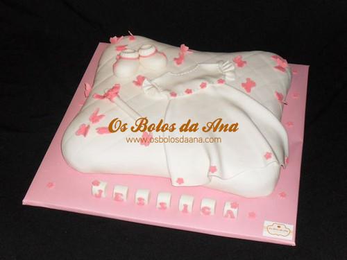bolo de batizado, bolo decorado de batizado, bolo de baptizado, bolo vestido de batizado, bolo artistico baptizado
