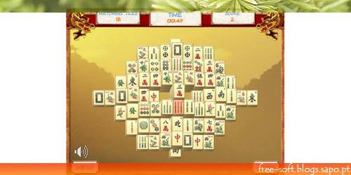 Jogo Dominó Chinês - Mahjong grátis - jogar online