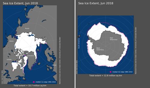 june-2018-arctic-and-antarctic-sea-ice-extent-maps
