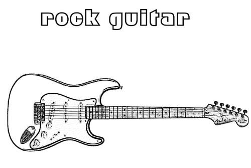 desenhos de guitarras para colorir e imprimir o mundo das crianças
