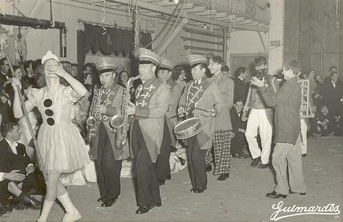 Nelson Camacho do carnaval de 1954 no Lisboa Ginásio Clube