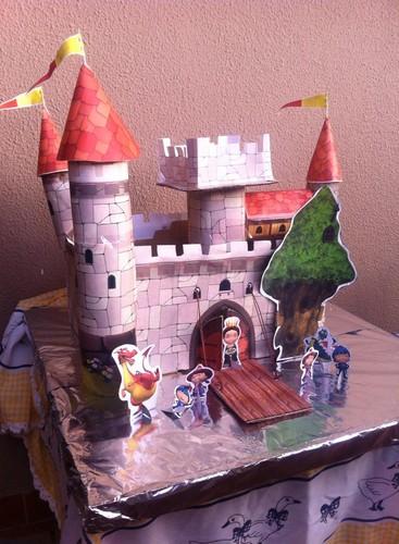 Festa o Mike Cavaleiro  - o Castelo
