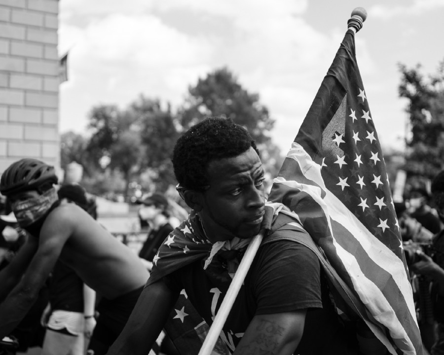 7 The Beautiful. BLM March Washington D.C. 2020 ©