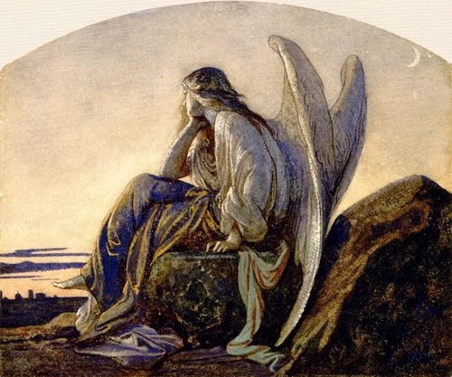 Alexandre Cabanel, The Evening Angel, 1848_tumblr_